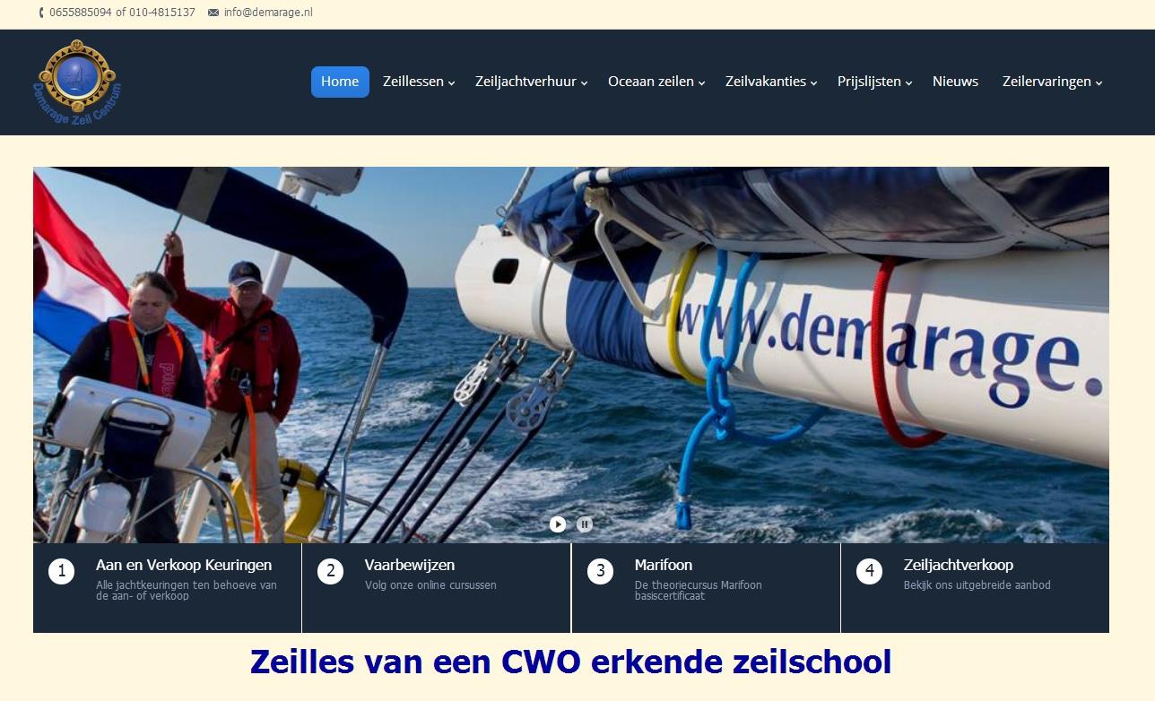 demarage project webdesign rotterdam